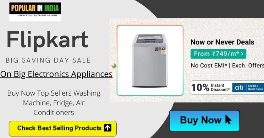 flipkart big saving day sale on big electronics items