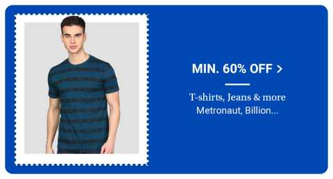 Fashion Discount on Mens Casual on Flipkart Big SAving Day Sale popular in India
