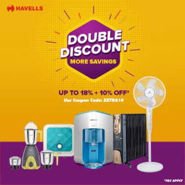 Double discount from Havells India