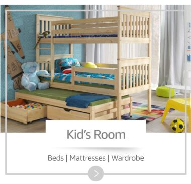 Buy Kids room furniture with more than 50 percent discount