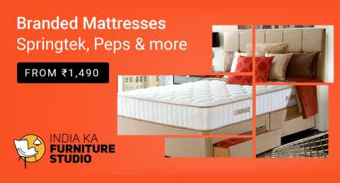 Todays discount and offers on branded matress on flipkart big saving day popular in India