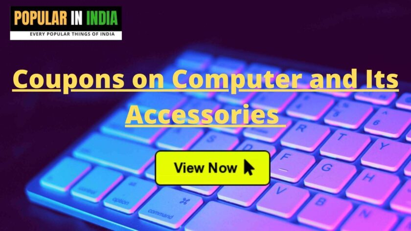 Coupons on Computer and its accessories from amazon