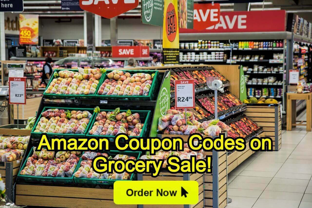 Amazon Coupons Codes on Grocery Sale