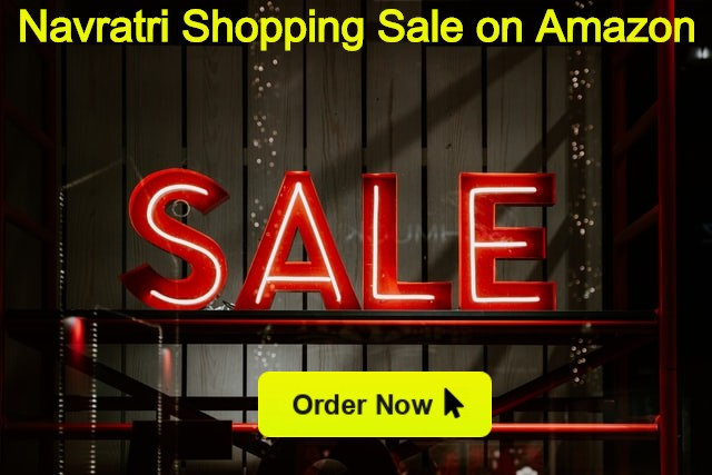 Navratri Shopping Sale on Amazon with high discounts and Coupons popular in India