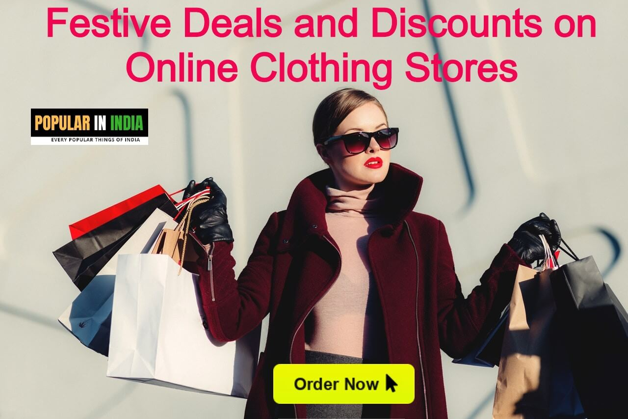 Festive Deals and Discounts on Online Clothing Stores
