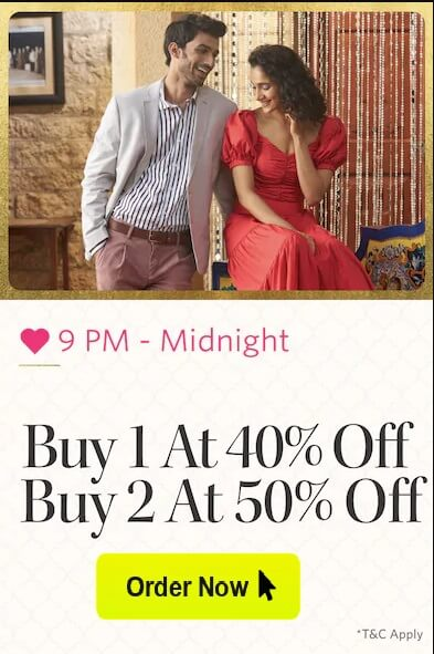 Deals of the Day on Myntra