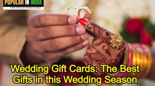 Wedding Gift Cards: The Best Gifts in this Wedding Season