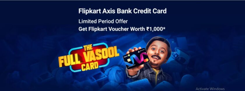 Flipkart Axis Bank Credit Card Online Application