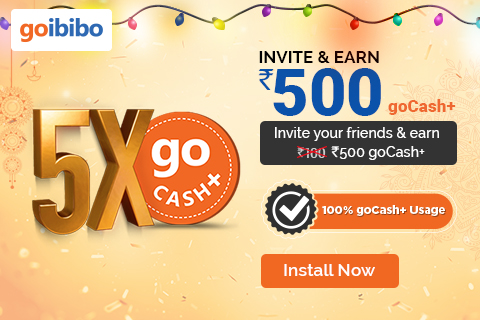 goibibo offers and discounts on Hotel Booking