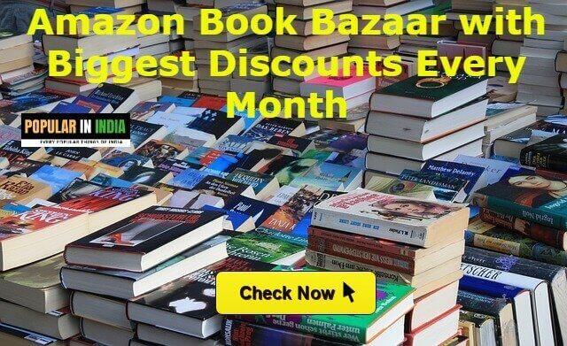 Amazon Book Bazaar with Biggest Discounts Every Month