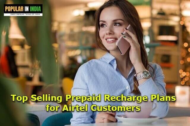 prepaid recharge airtel plans