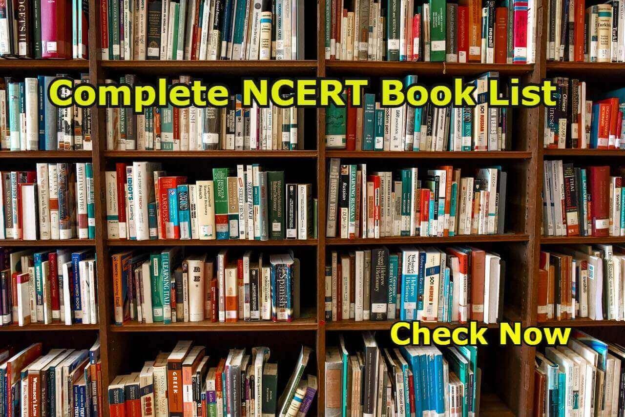 Complete NCERT Book List