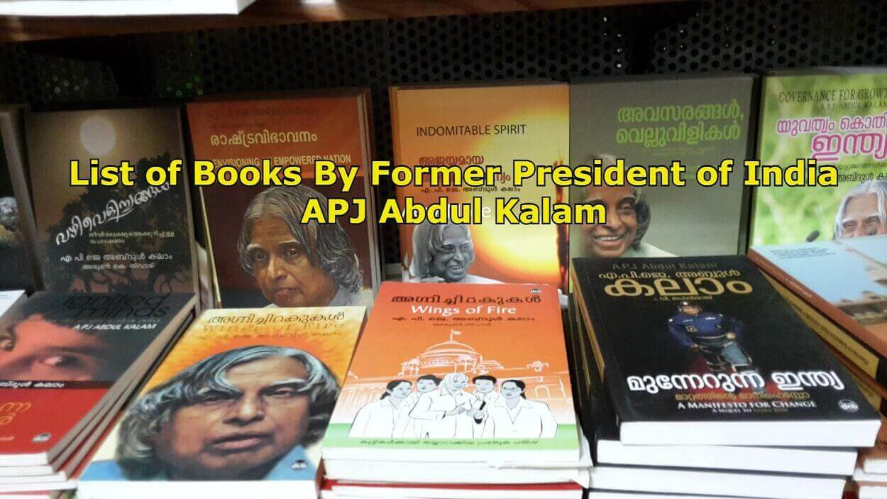 List of Books By Former President of India APJ Abdul Kalam